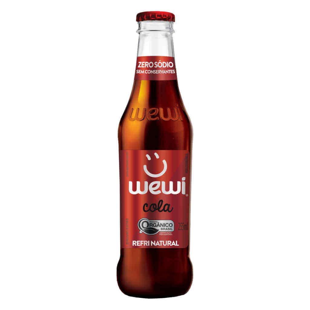 Refrigerante Wewi Cola Orgânico 255ml - Wewi  - Raiz Nativa - Loja de Produtos Naturais e Orgânicos Online