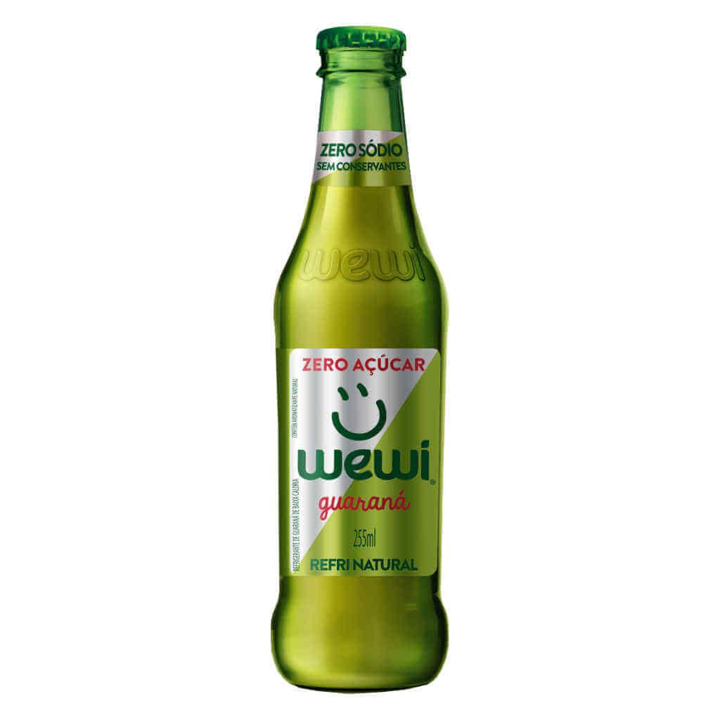 Refrigerante Wewi Guaraná Zero Açúcar Natural 255ml - Wewi