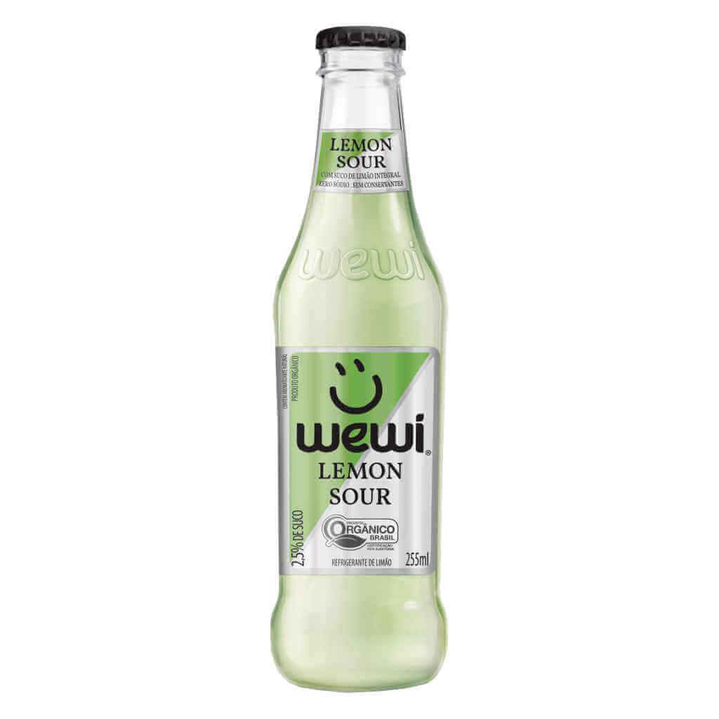 Refrigerante Wewi Lemon Sour Orgânico 255ml - Wewi