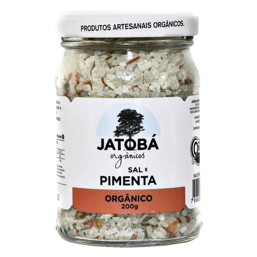 Sal, Ervas e Pimenta Orgânica 200g - Jatobá  - Raiz Nativa - Loja de Produtos Naturais e Orgânicos Online