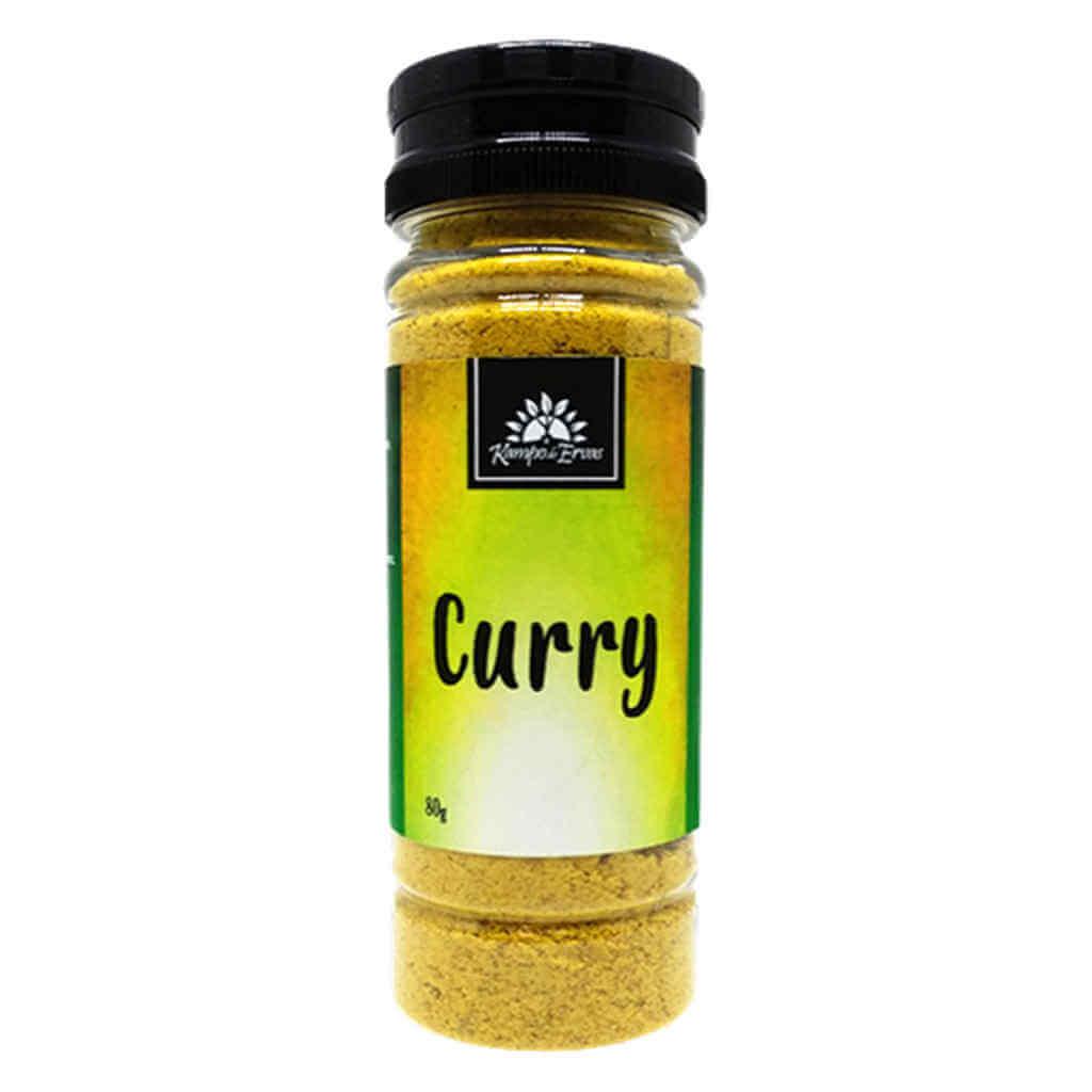 Tempero Curry 80g - Kampo de Ervas