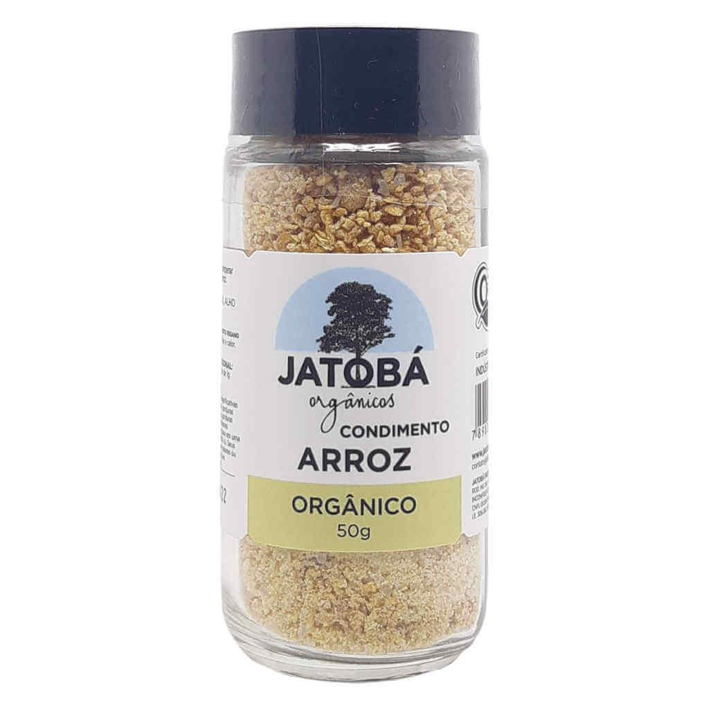 Tempero para Arroz Orgânico 50g - Jatobá  - Raiz Nativa - Loja de Produtos Naturais e Orgânicos Online