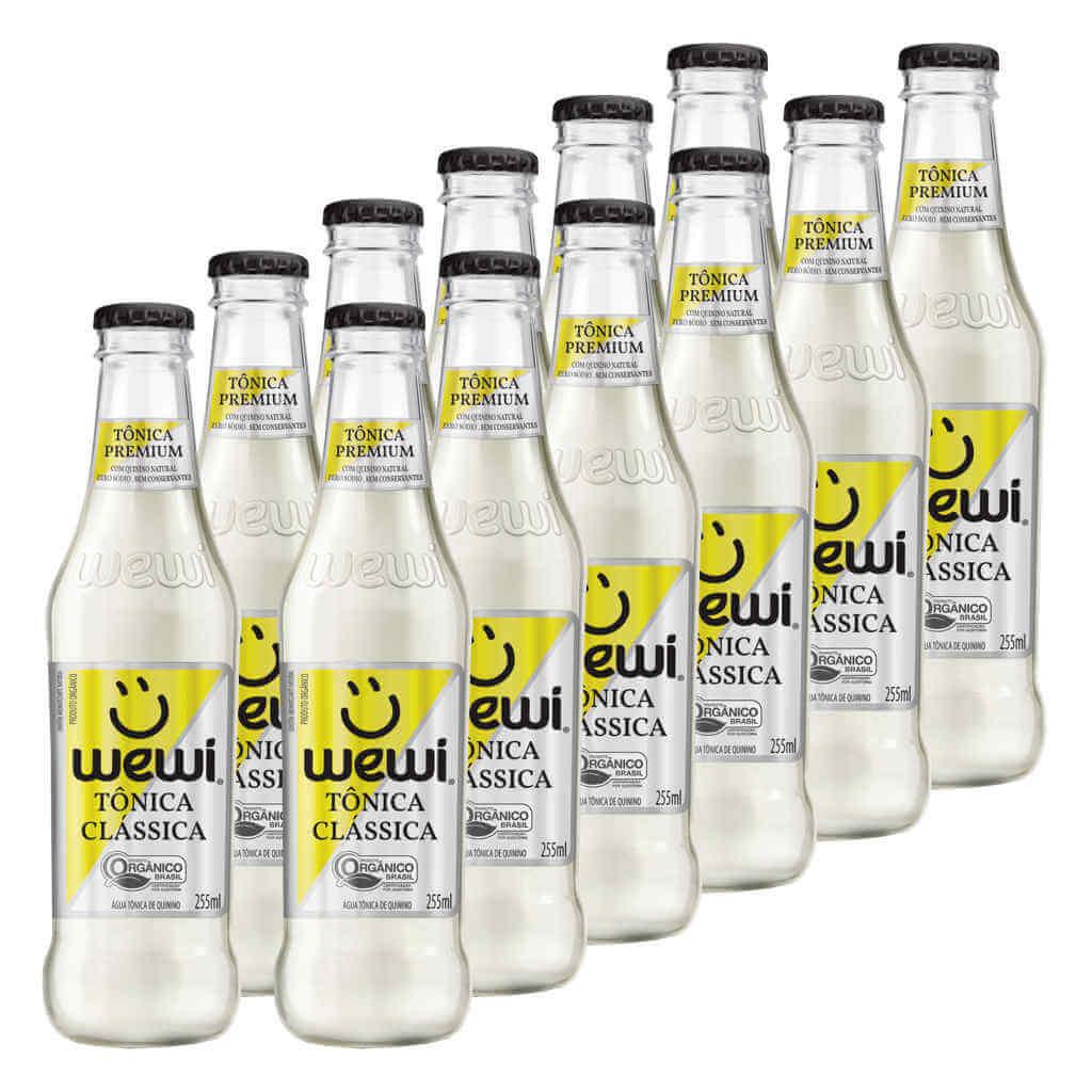 Tônica Orgânica 255ml - Wewi (12 garrafas)