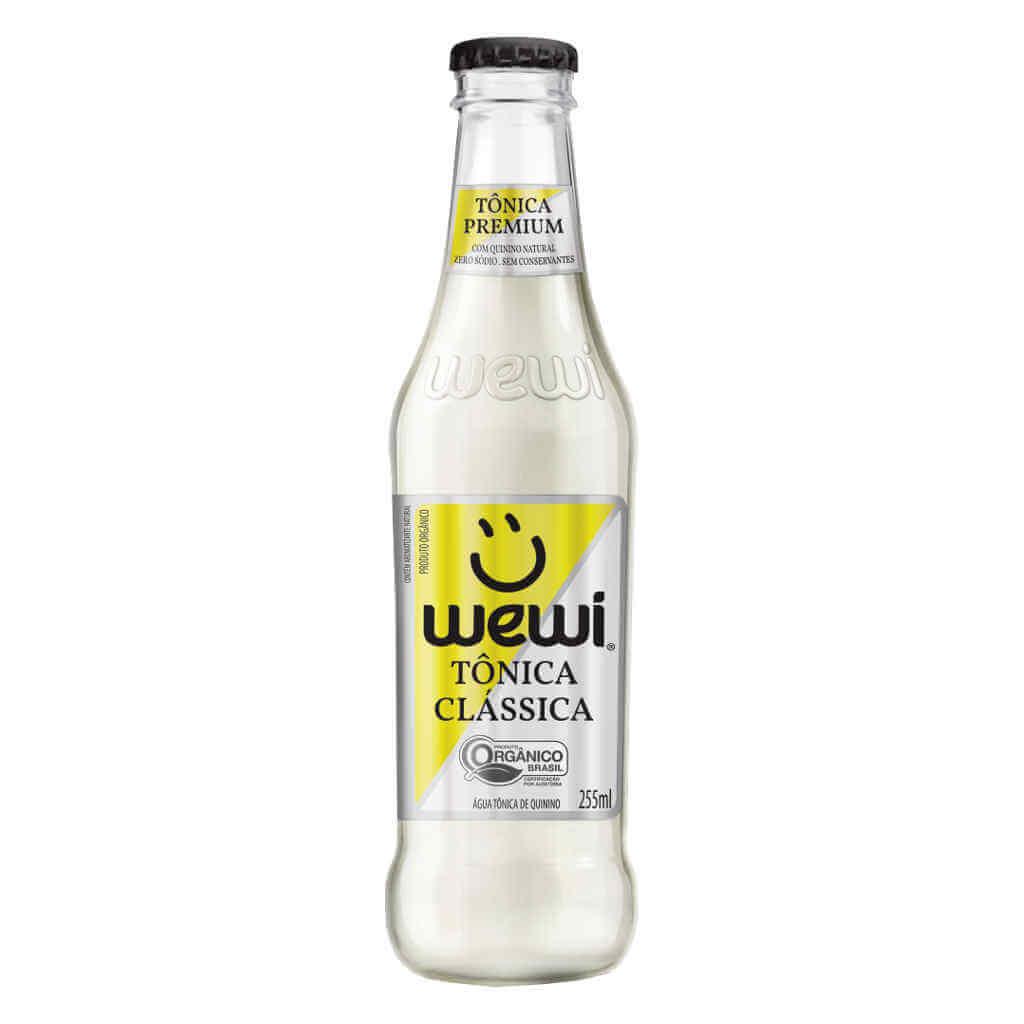 Tônica Orgânica 255ml - Wewi (6 garrafas)  - Raiz Nativa - Loja de Produtos Naturais e Orgânicos Online