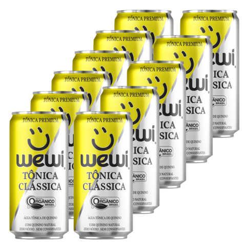 Tonica Orgânica Clássica Lata 269ml - Wewi (12 latas)  - Raiz Nativa - Loja de Produtos Naturais e Orgânicos Online