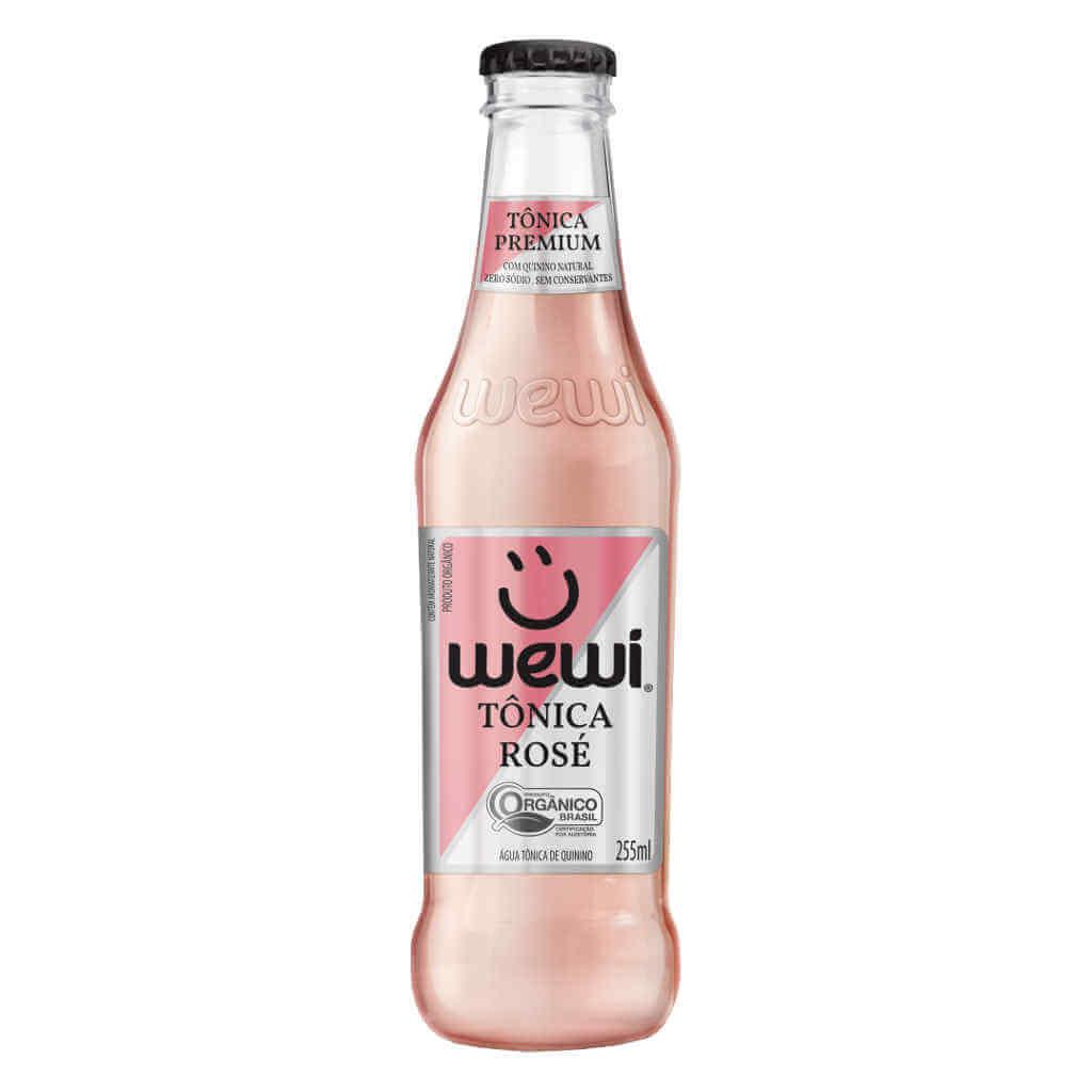 Tônica Rosé Orgânica 255ml - Wewi (6 garrafas)