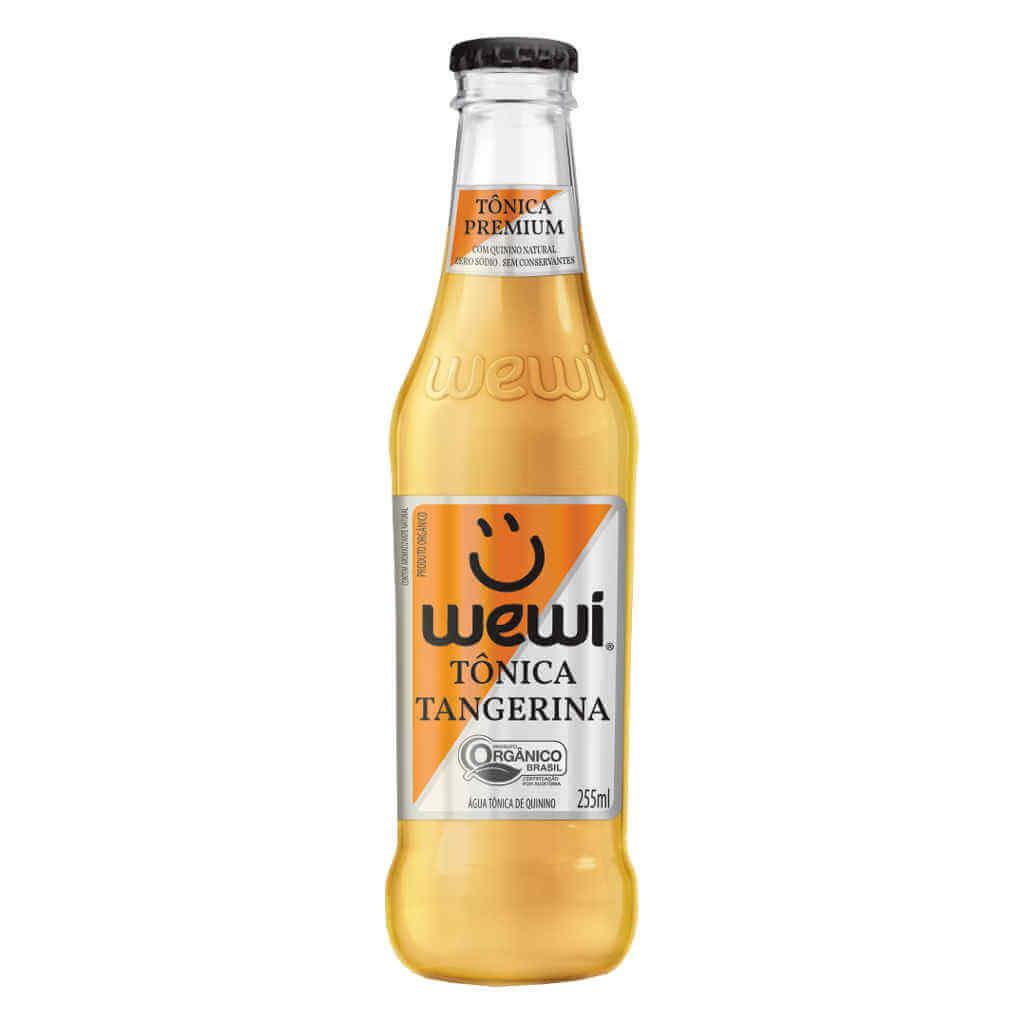Tônica Tangerina Orgânica 255ml - Wewi (6 garrafas)  - Raiz Nativa - Loja de Produtos Naturais e Orgânicos Online