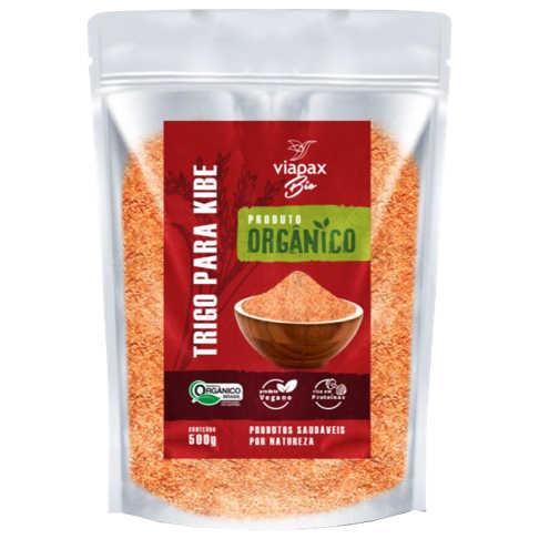 Trigo para Kibe Orgânico 500g - Viapax Bio  - Raiz Nativa - Loja de Produtos Naturais e Orgânicos Online