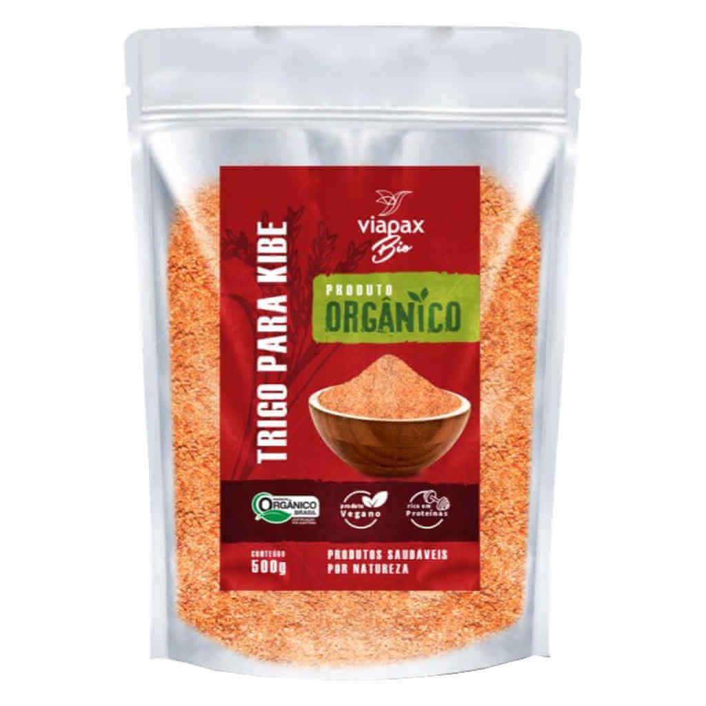 Trigo para Kibe Orgânico 500g - Viapax Bio (Kit c/ 3 unidades)  - Raiz Nativa - Loja de Produtos Naturais e Orgânicos Online