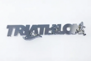Adesivo Ictus Triathlon Prata