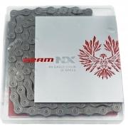 CORRENTE SRAM PC NX EAGLE 126 ELOS 12 VELOCIDADES CINZA