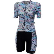 MACAQUINHO FEM MARCIO MAY SLIM FIT RAINBOW M