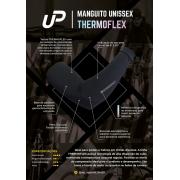 MANGUITO UNISSEX UP THERMOFLEX PRETO