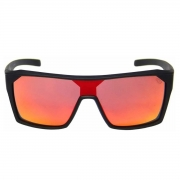 OCULOS HB CARVIN 2.0 MATTE BLACK RED CHROME