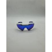 OCULOS HB SHIELD EVO 2.0 PEARLED WHITE BLUE CHROME