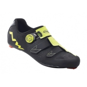 SAPATILHA SPEED NORTHWAVE PHANTOM CARBON PTO/AMARELO FLUOR