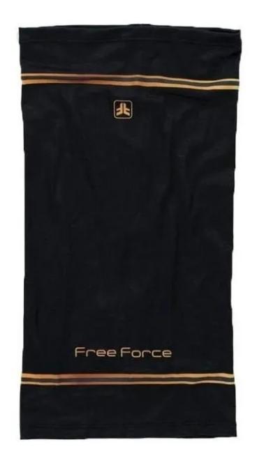 BANDANA FREE FORCE CHIC PRETO TAM. U