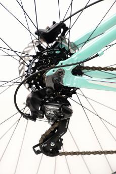 BICICLETA MTB KODE HILDE TURQUESA/BRANCO/PINK