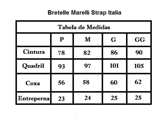BRETELLE MARELLI STRAP ITALIA PRETO