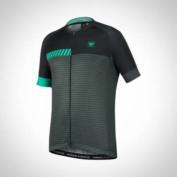 CAMISA FREE FORCE SPORT PACE PTO/CINZ
