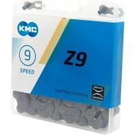 CORRENTE KMC 1/2X11/128X116, Z9, CINZA, 9V.