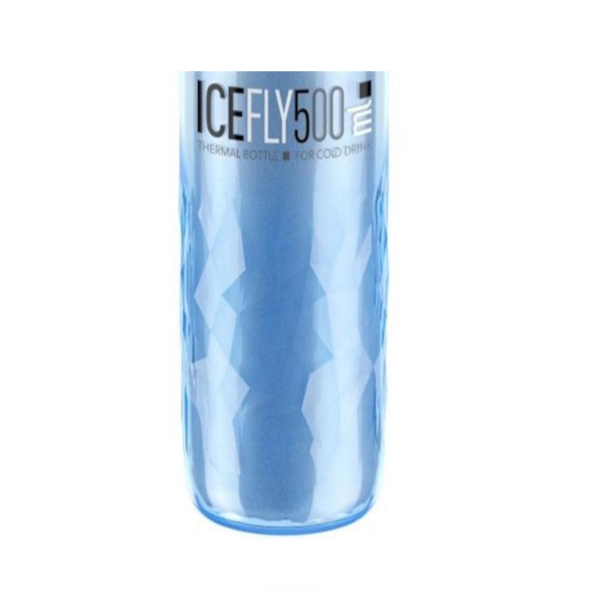 GARRAFA PLASTICO TERMICA ICE FLY 500ML AZL