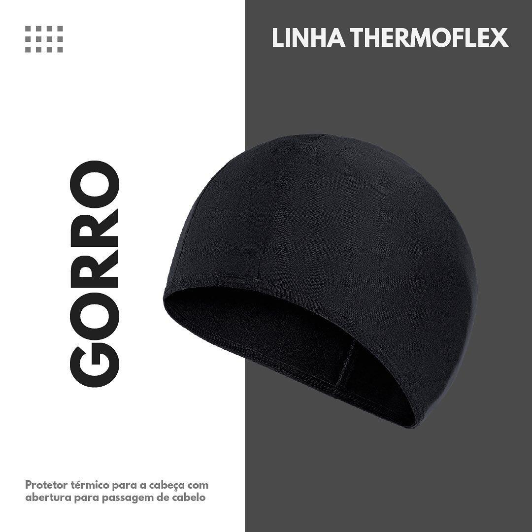 GORRO THERMOFLEX UP - PRETO