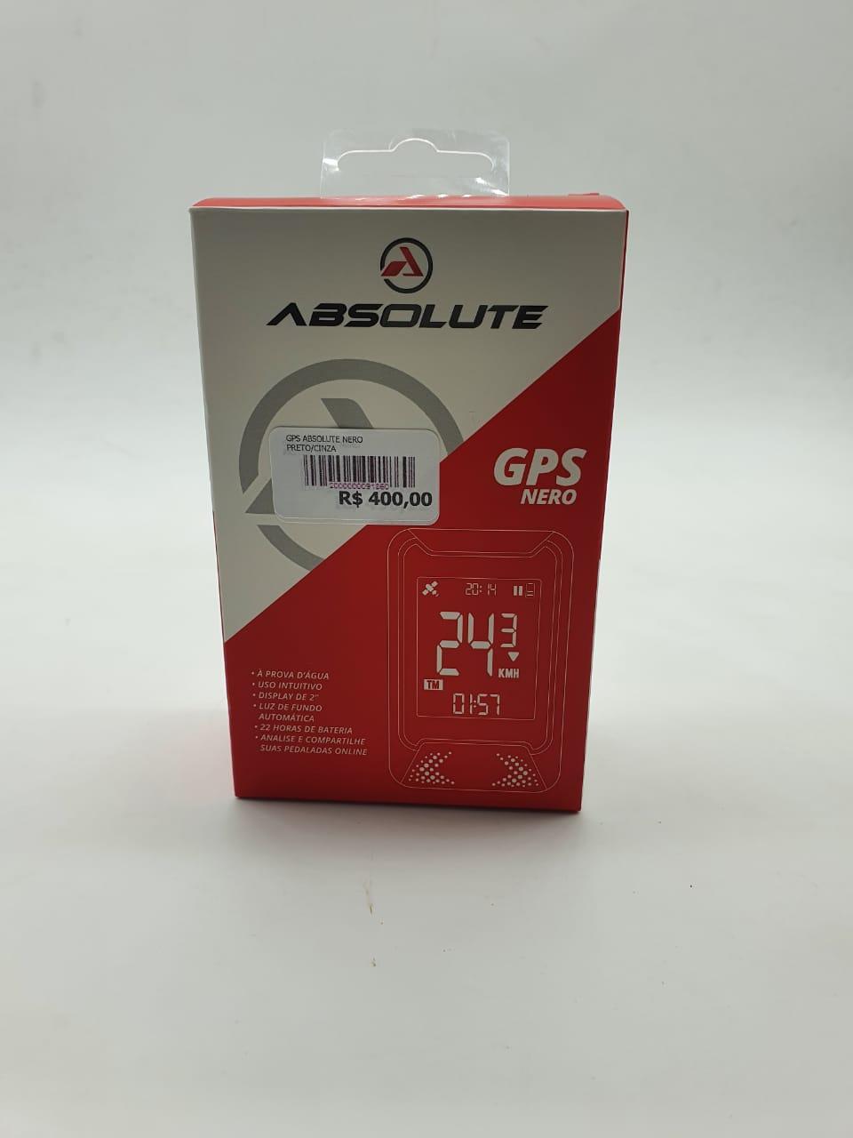GPS ABSOLUTE NERO PRETO/CINZA