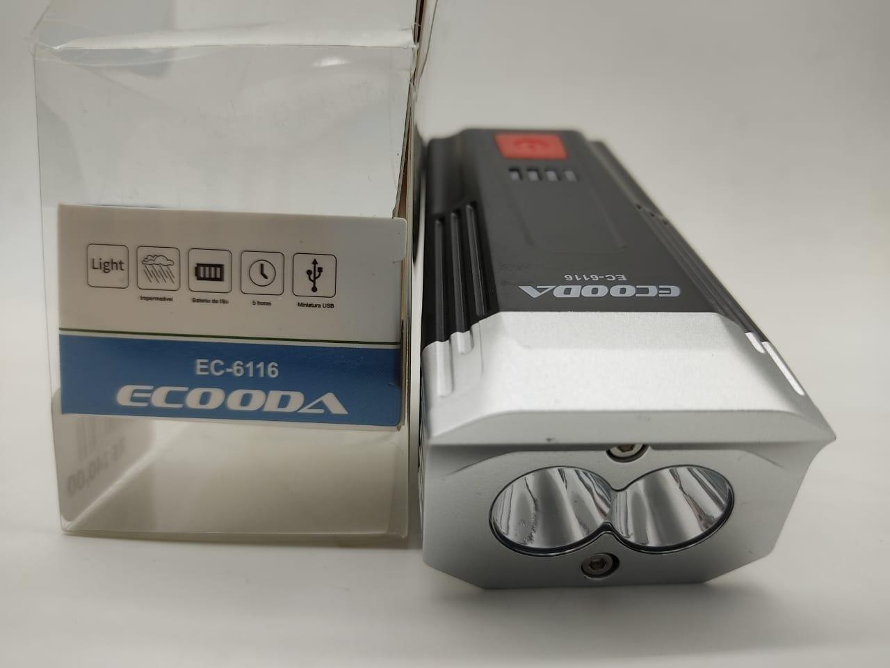 LUZ DE BICICLETA LED ECOODA 6116