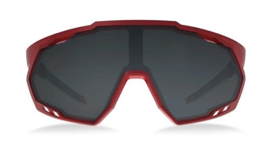 OCULOS HB SPIN GRADIENT RAGE RED/BLACK GRAY, CRISTAL