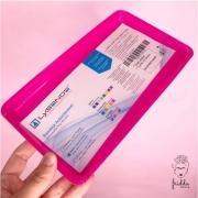 Bandeja plástica Autoclavável Lysanda  22x16x1,5 -Pink glitter