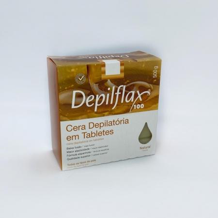 Cera quente  Depilflax Natural mel - 500g