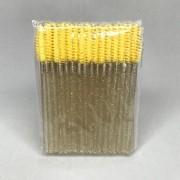 Escovinha descartável com glitter c/50 unidades