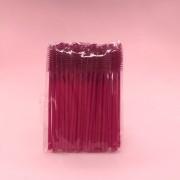Escovinhas descartáveis para cílios e sobrancelhas c/50 - Pink