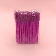 Escovinhas descartáveis para cílios e sobrancelhas c/50 - Purpúra