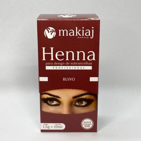 Henna Makiaj 1,5g - Ruivo