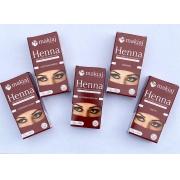 Kit Henna Makiaj 1,5g - 5 cores