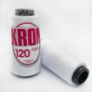 Linha para epilação 100% poliéster Branca - Kron