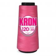 Linha para epilação 100% poliéster Rosa - Kron