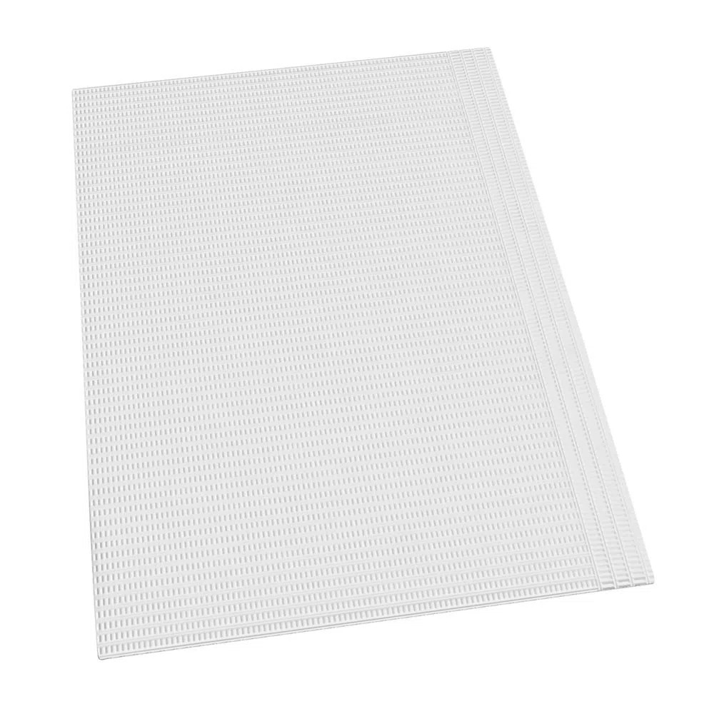 Babador odontológico impermeável Branco Hospflex - com 100