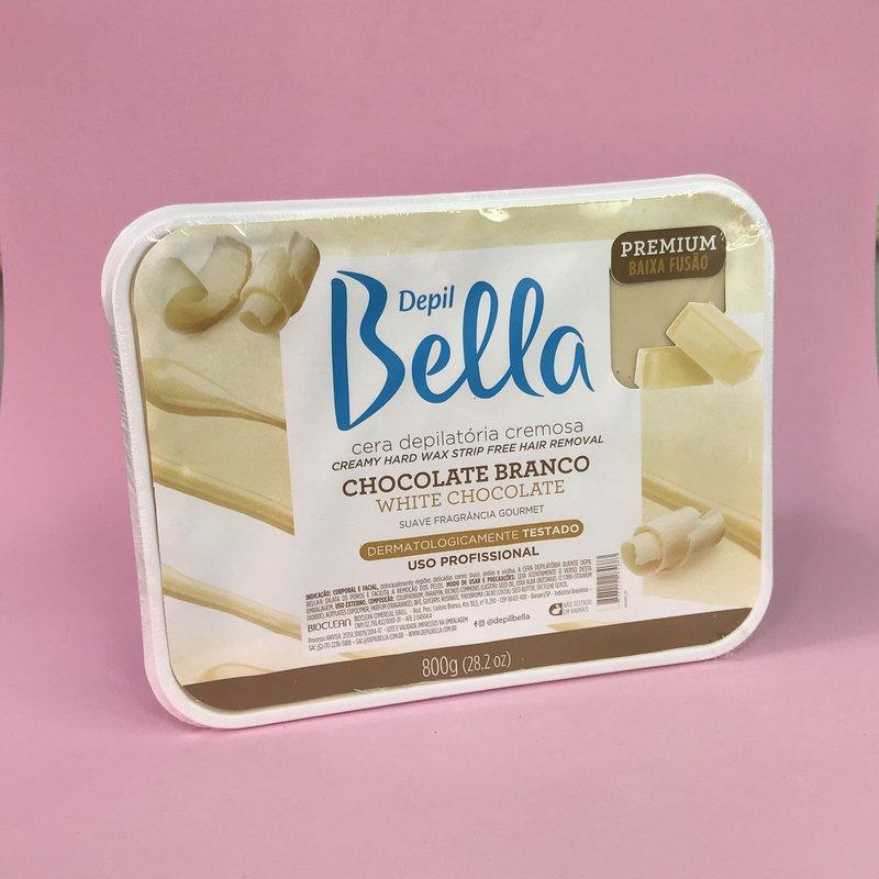 Cera Chocolate cremosa Depil Bella 800g