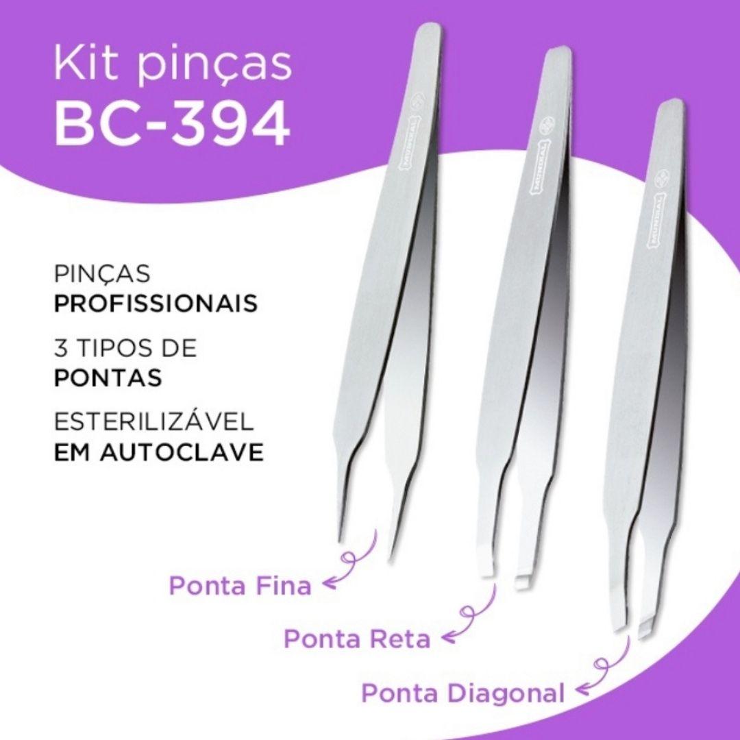 Conjunto de pinças premium Mundial BC-394