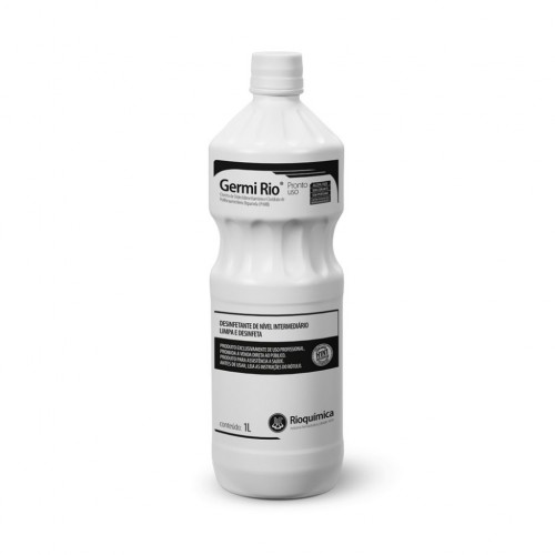 Desinfetante intermediário Germe rio - pronto uso 1Lt Rioquímica