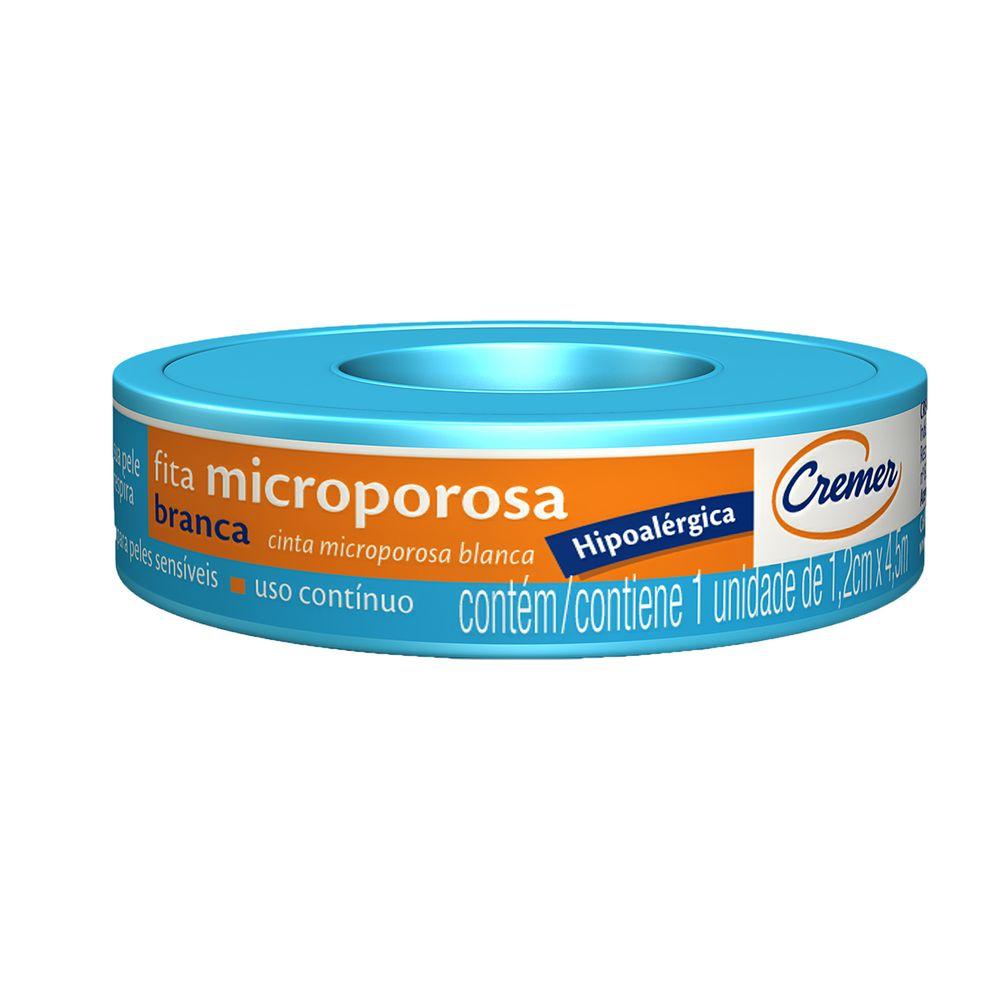 Fita micropore hipoalérgica Cremer - 1,2cmx4,5mt