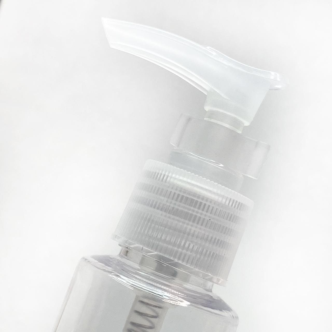 Frasco pump plástico 100ml