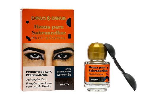 Henna Della e Delle 3g- Preto