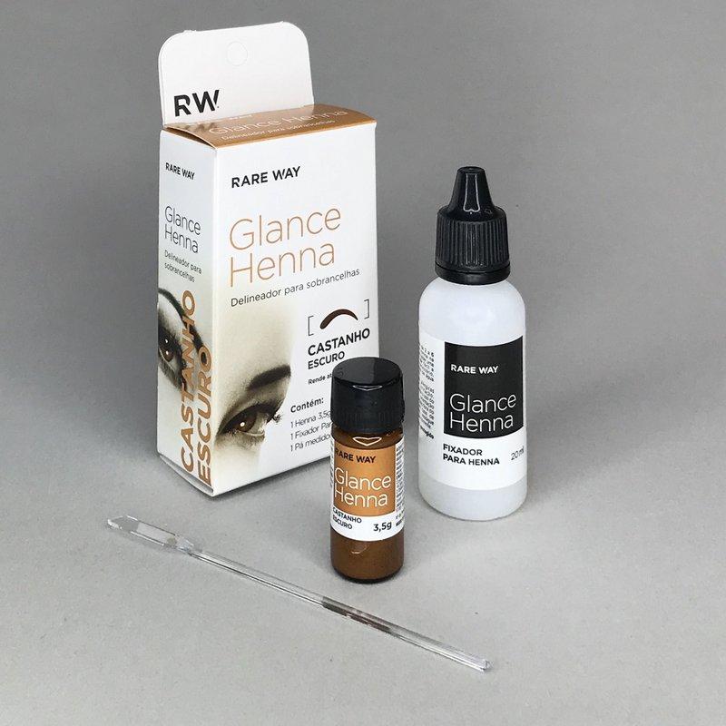 Henna Glance  3,5 g -  Castanho Escuro