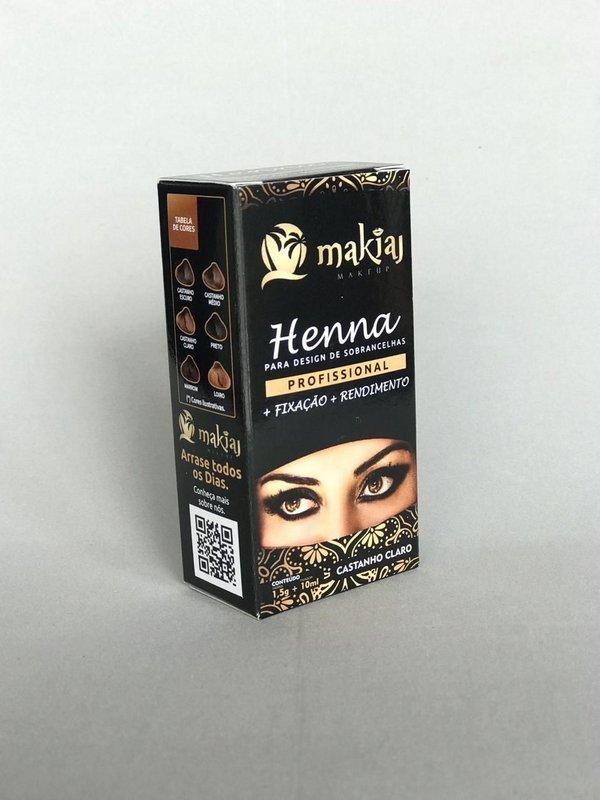 Henna Makiaj 1,5g - Castanho Claro