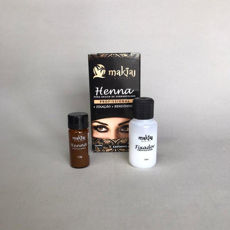 Henna Makiaj 1,5g - Castanho Medio