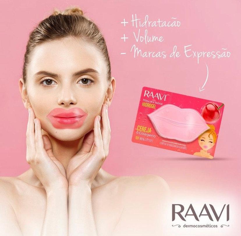 Máscara labial hidratante de hidrogel Raavi